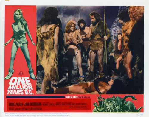 ONE MILLION YEARS B.C.(1966) LOBBY CARD 6