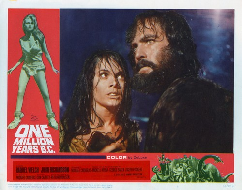 ONE MILLION YEARS B.C.(1966) LOBBY CARD 7