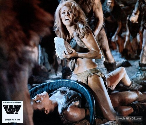 ONE MILLION YEARS B.C.(1966) LOBBY CARD 9