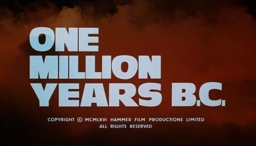 ONE MILLION YEARS B.C.(1968)