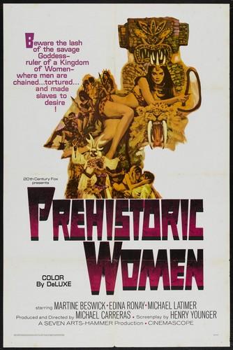 PREHISTORIC WOMEN(1967) FILM POSTER 2