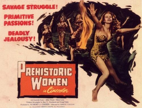 PREHISTORIC WOMEN(1967) FILM POSTER 3