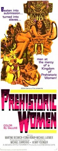 PREHISTORIC WOMEN(1967) FILM POSTER 4