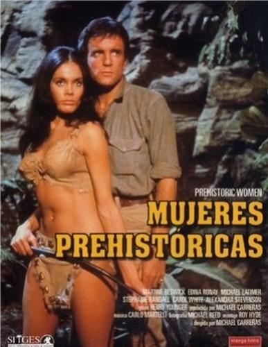 PREHISTORIC WOMEN(1967) FILM POSTER 5