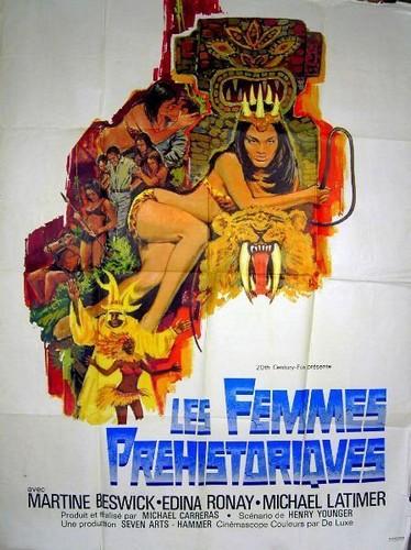 PREHISTORIC WOMEN(1967) FILM POSTER 7