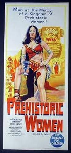 PREHISTORIC WOMEN(1967) FILM POSTER 8