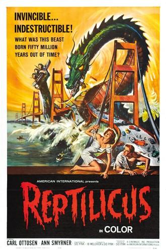 REPTILICUS(1961) FILM POSTER 1