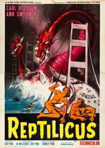 REPTILICUS(1961) FILM POSTER 10