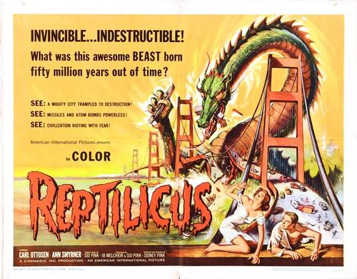REPTILICUS(1961) FILM POSTER 2