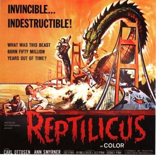 REPTILICUS(1961) FILM POSTER 3