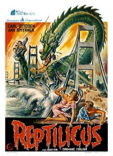 REPTILICUS(1961) FILM POSTER 4