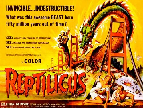 REPTILICUS(1961) FILM POSTER 5