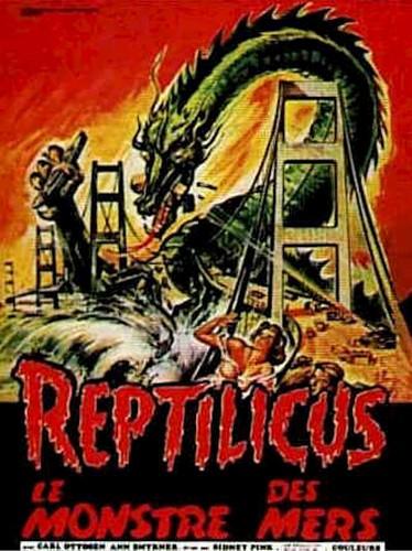 REPTILICUS(1961) FILM POSTER 6