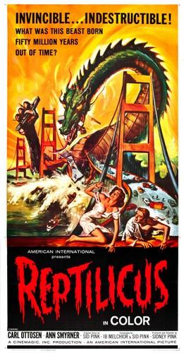 REPTILICUS(1961) FILM POSTER 8