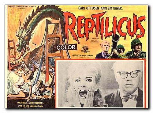REPTILICUS(1961) FILM POSTER 9