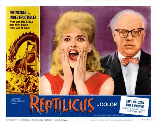 REPTILICUS(1961) LOBBY CARD 1