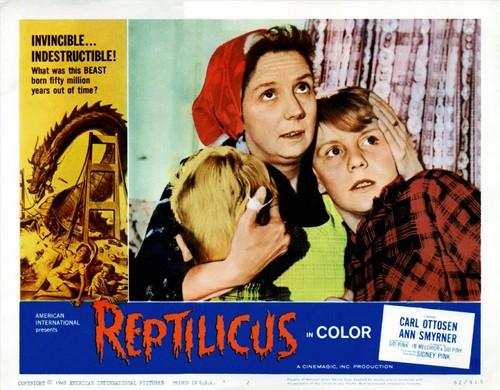 REPTILICUS(1961) LOBBY CARD 2