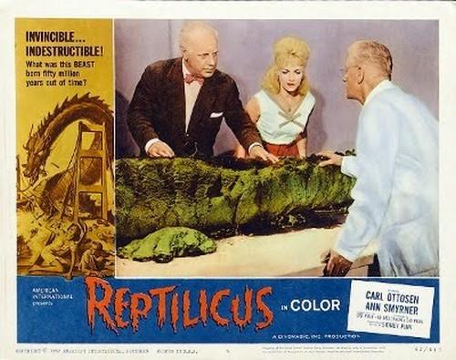 REPTILICUS(1961) LOBBY CARD 4