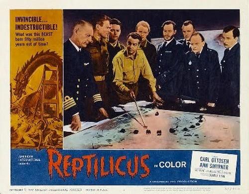 REPTILICUS(1961) LOBBY CARD 5