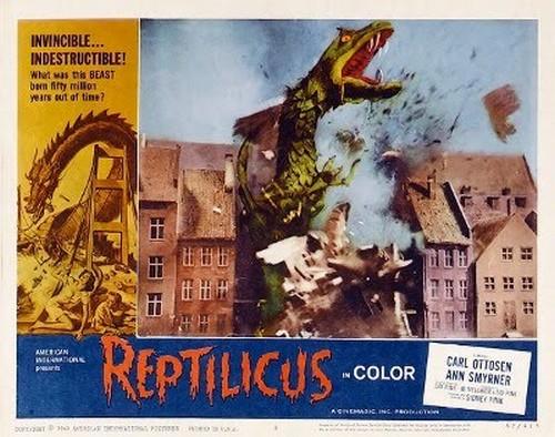 REPTILICUS(1961) LOBBY CARD 6