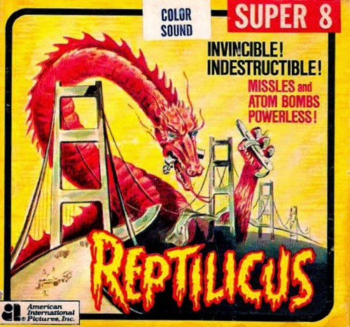 REPTILICUS(1961) SUPER 8