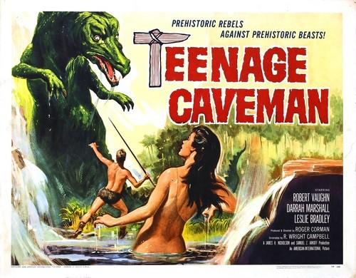 TEENAGE CAVEMAN FILM POSTER 1