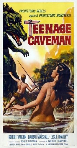 TEENAGE CAVEMAN FILM POSTER 2