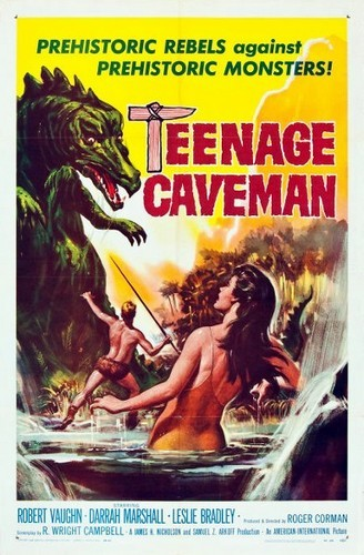TEENAGE CAVEMAN FILM POSTER 5
