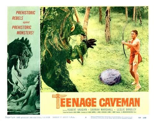 TEENAGE CAVEMAN LOBBY CARD 2