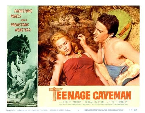 TEENAGE CAVEMAN LOBBY CARD 3