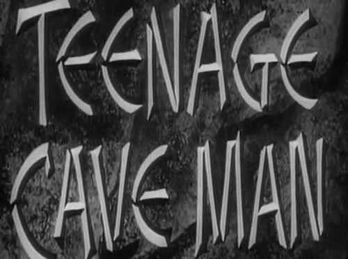 TEENAGE CAVEMAN(1961)