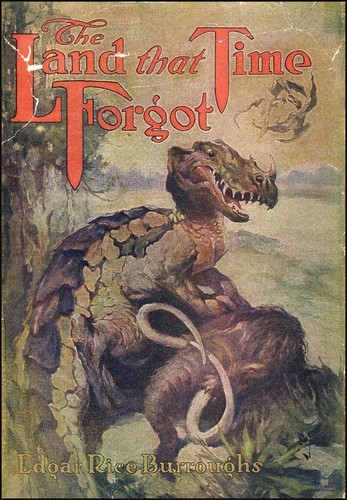 THE LAND THAT TIME FORGOT(1975) BOOK COVER