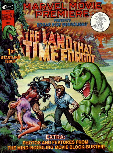 THE LAND THAT TIME FORGOT(1975) COMICS MARVEL