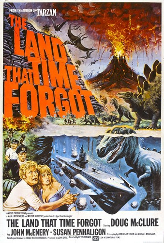 THE LAND THAT TIME FORGOT(1975) FILM POSTER 1