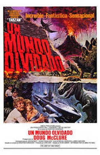 THE LAND THAT TIME FORGOT(1975) FILM POSTER 10