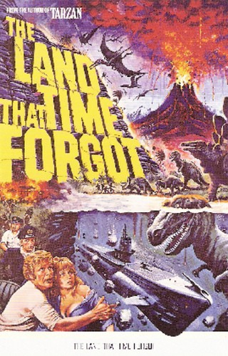 THE LAND THAT TIME FORGOT(1975) FILM POSTER 2