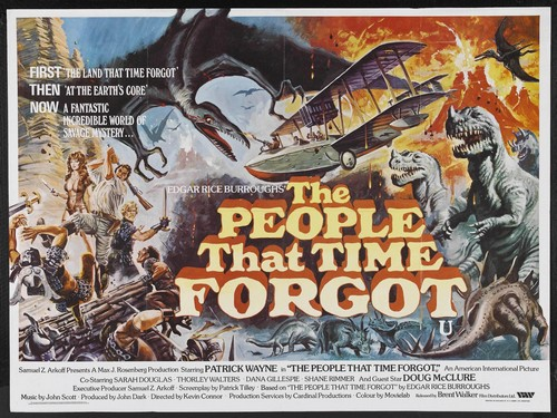 THE LAND THAT TIME FORGOT(1975) FILM POSTER 3