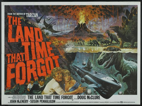 THE LAND THAT TIME FORGOT(1975) FILM POSTER 4