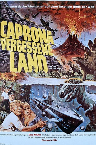 THE LAND THAT TIME FORGOT(1975) FILM POSTER 9