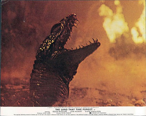 THE LAND THAT TIME FORGOT(1975) LOBBY CARD 11