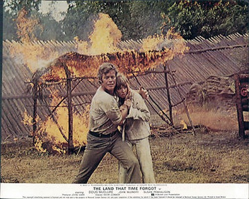 THE LAND THAT TIME FORGOT(1975) LOBBY CARD 12