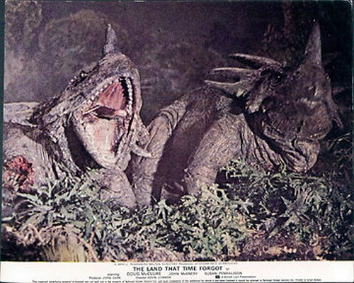 THE LAND THAT TIME FORGOT(1975) LOBBY CARD 13