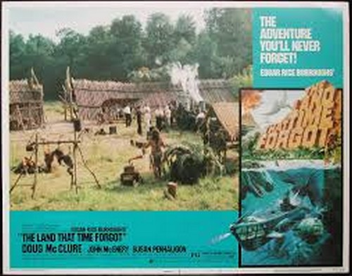 THE LAND THAT TIME FORGOT(1975) LOBBY CARD 5