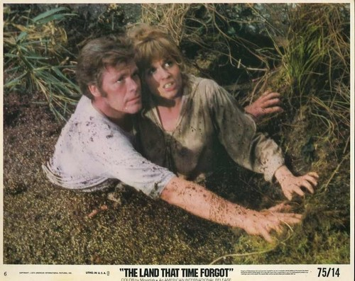 THE LAND THAT TIME FORGOT(1975) LOBBY CARD 7