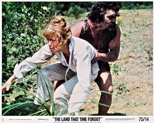 THE LAND THAT TIME FORGOT(1975) LOBBY CARD 8
