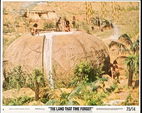 THE LAND THAT TIME FORGOT(1975) LOBBY CARD 9