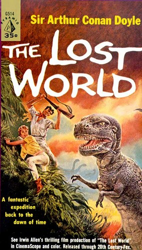 THE LOST WORLD BOOK COVER 1
