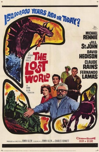 THE LOST WORLD(1960) FILM POSTER 10