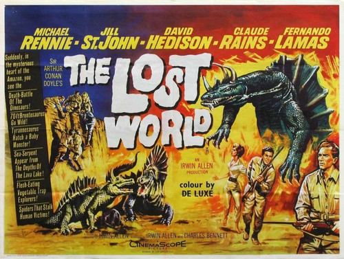 THE LOST WORLD(1960) FILM POSTER 2