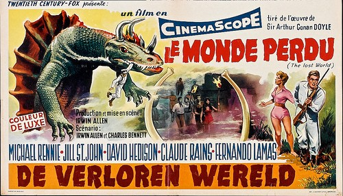 THE LOST WORLD(1960) FILM POSTER 3